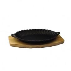 Сковорода на подставке с 2-мя руч. 24,5см