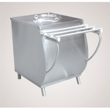 Прилавок для подогр. тарелок ПТЭ-70М-80