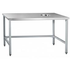 Стол для сбора отходов ССО-4 (1400x700x860 мм) каркас крашен