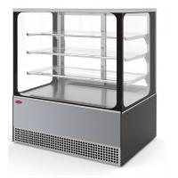 Холодильная витрина Veneto VS-1,3 Cube (нерж.)
