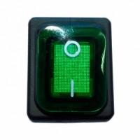 Переключатель 3INB4MASK48N1E21 зеленый (КПЭМ, ШРТ)