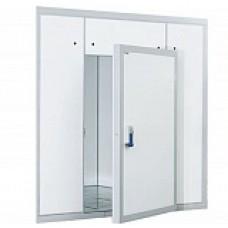 Дверной блок с контейнерной дверью