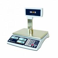 Весы электронные торговые со стойкой MAS MR1-15P