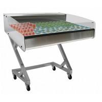 Холодильная витрина для икры и пресервов Полюс ВХСр-1,0 Арго XL Техно self