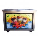Фризер для ролл мороженого KCB-1F Foodatlas (световой короб, стол для топпингов)