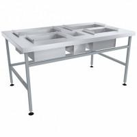 Стол для доочистки картофеля СРОд-1350х800х700