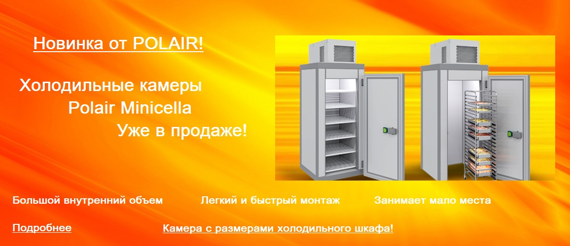 Холодильные миникамеры Minicella