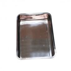Лоток нержавеющий (глубина 7 см.: 35х45 см.)