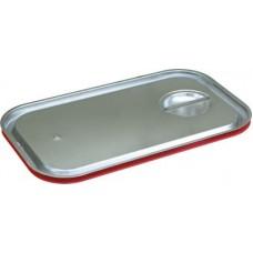 Крышка для гастроемкости GN 1/1 нержавеющая с уплотнительным кольцом