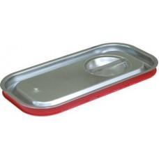 Крышка для гастроемкости GN 1/3 нержавеющая с уплотнительным кольцом