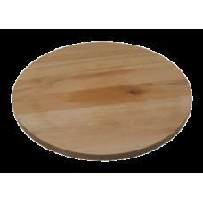 Доска для пиццы 300х13 мм. (буковая, круглая)