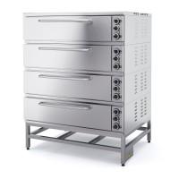 Шкаф пекарный четырехсекционный ШПЭ104