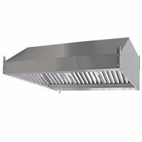 Зонт вытяжной пристенный ЗВ-П16/12 1600х1200х350мм (жироуловитель)
