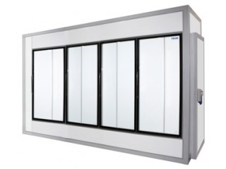 Холодильные камеры POLAIR со стеклянным фронтом