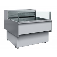 Холодильная витрина GC110 SP 1,25-2 (с боковинами, рыба на льду)