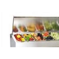 Холодильная витрина A40 SM 1,6 с крышкой 0430 (Carboma VT3-G с крышкой)