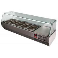 Холодильная витрина A40 SM 1,2-G 0430 (Carboma VT2v-G)
