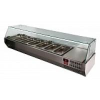 Холодильная витрина A40 SM 1,6-G 0430 (Carboma VT3v-G)